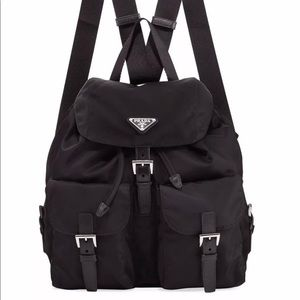 Authentic Prada Nero Vela mini backpack